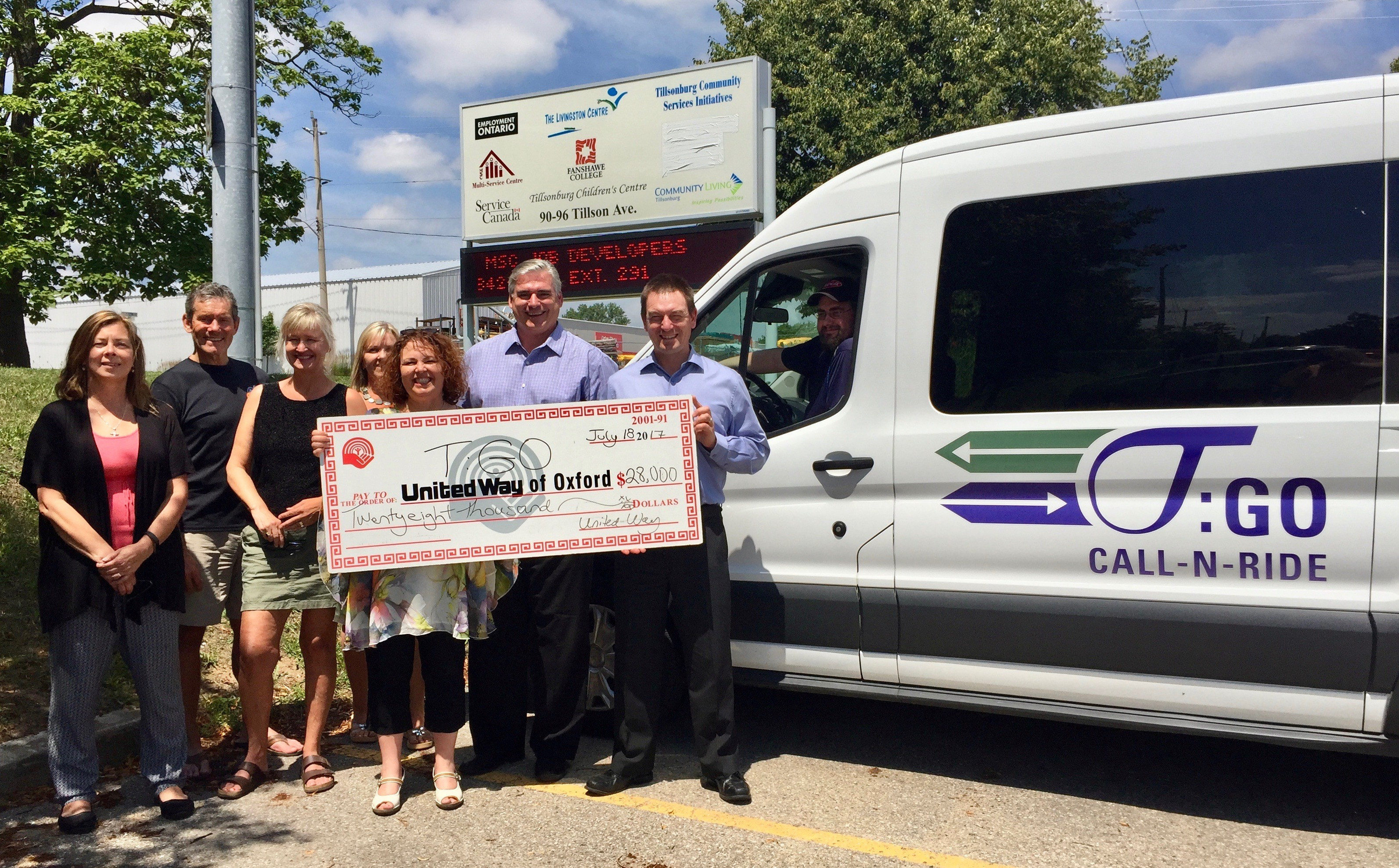 T:GO CALL-N-RIDE program receives $28,000 in funding from United Way Oxford Featured Image